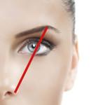 Augenbrauen richtig gezupft