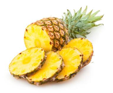 Ananas gesund und lecker