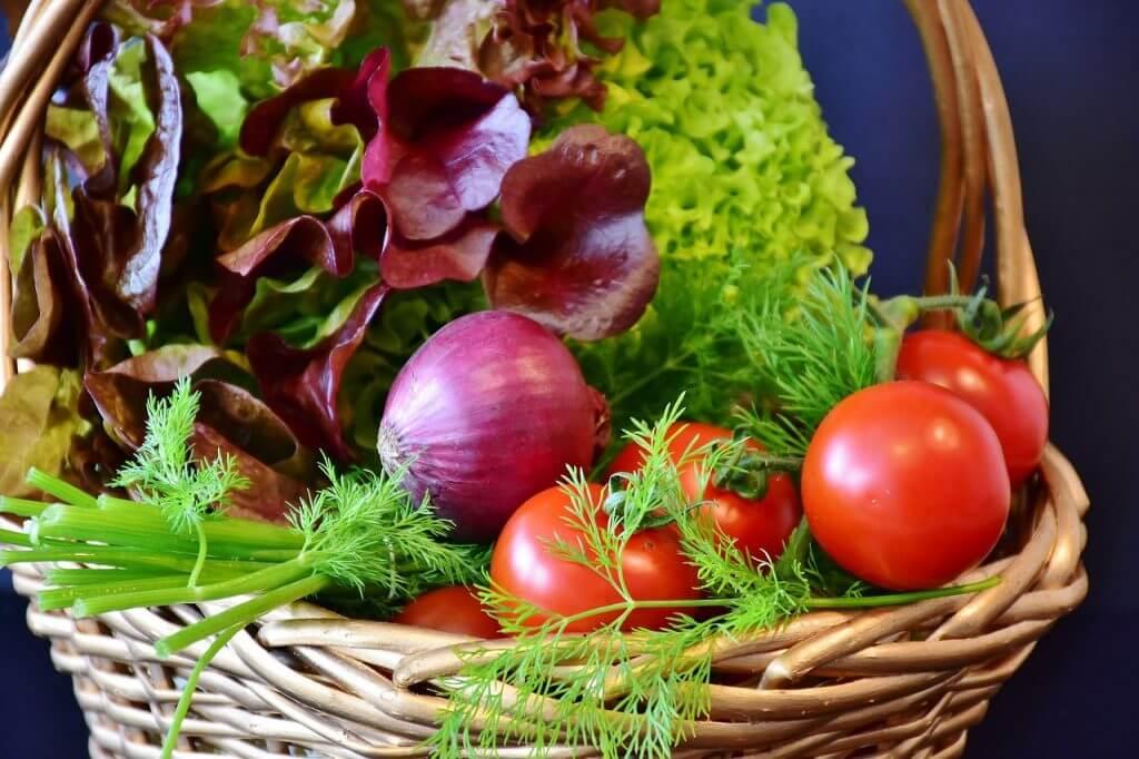gesunde-salate gesunde ernährung obst und gemüse