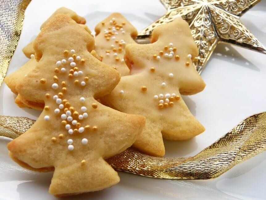 Weihnachten-Kekse