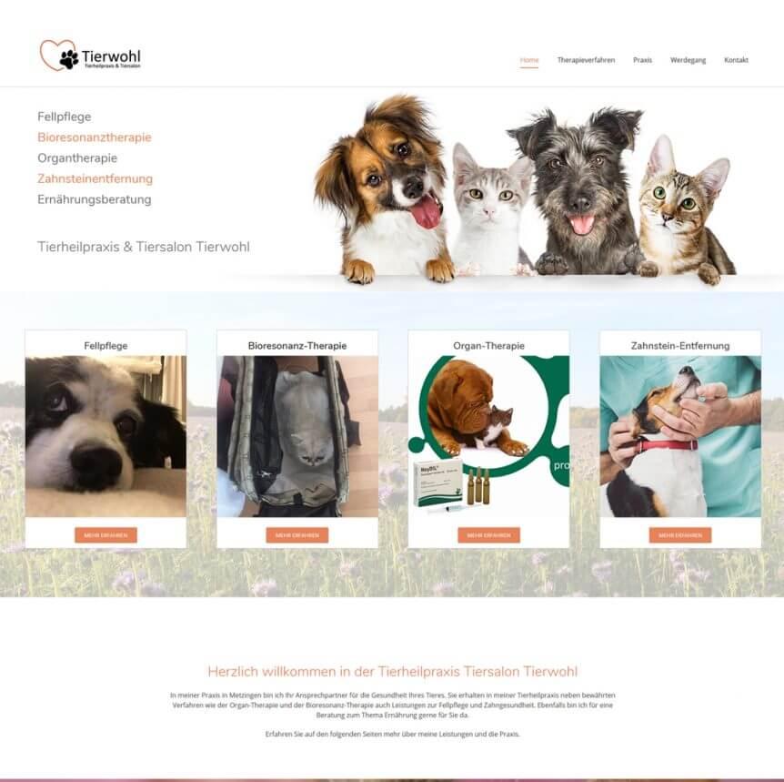 Tierheilpraxis Tiersalon Tierwohl von Ingeborg Barkholtz Metzingen