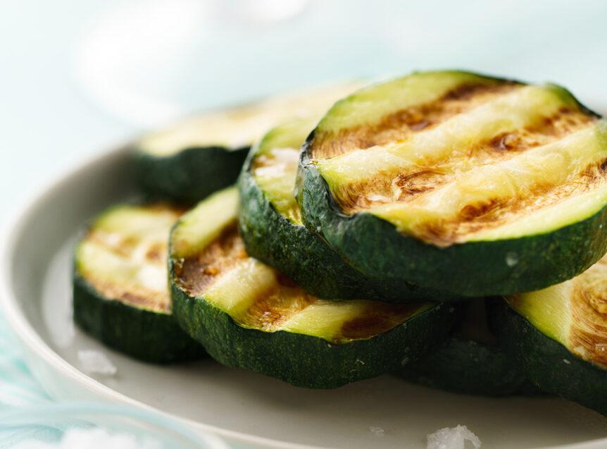 zucchini gegrillt